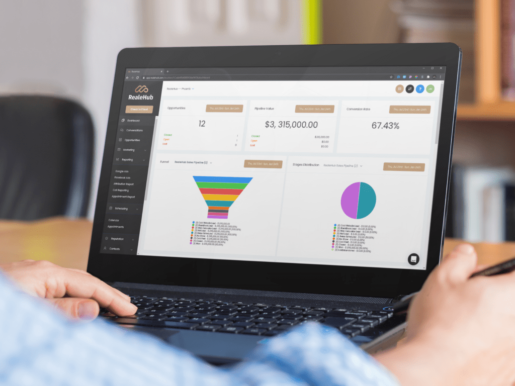 Real Estate All In One CRM